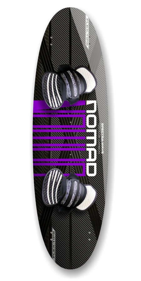 Ultra-wave surf twintip Nomad Kiteboards